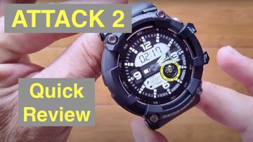 LOKMAT ATTACK 2 IP68 Waterproof Blood Pressure Ruggedized Smartwatch: Quick Overview