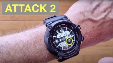 LOKMAT ATTACK 2 IP68 Waterproof Blood Pressure Ruggedized Smartwatch: Unboxing and 1st Look