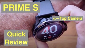 KOSPET PRIME S Budget Android 9 Top (Dual) Cameras SpO2 Reading New Tech Smartwatch: Quick Overview