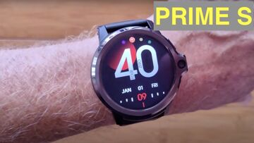 KOSPET PRIME S Budget Android 9 Top(Dual) Cameras SpO2 Reading New Tech Smartwatch: Unbox & 1st Look
