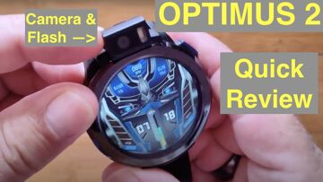 KOSPET OPTIMUS 2 Flagship Android 10 12MP Camera SpO2 Reading New Tech Smartwatch: Quick Overview