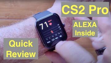 DOOGEE CS2 Pro Apple Watch Shaped ALEXA Installed 5ATM Fitness Smartwatch: Quick Overview