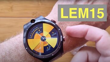 LEMFO LEM15 Android 10 MT6762 Dual Cameras 4GB/128GB 4G Bluetooth 5 Smartwatch: Unboxing & 1st Look