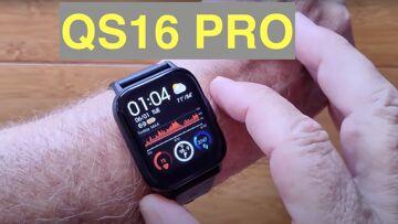 Bakeey QS16 PRO Continuous Temperature/HR/SpO2 IP67 Waterproof Health Smartwatch: Unbox & 1st Look