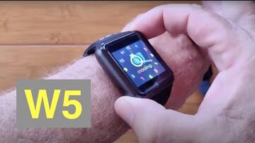 W5 Square Specialty Android 9 Smartwatch 4G + microSD + removable battery: Unboxing & 1st Look