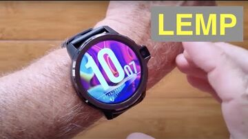 LEMFO LEMP Android 9 Top (Dual) Cameras 4GB/64GB SpO2 New Tech Smartwatch: Unboxing and 1st Look