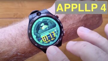 LOKMAT APPLLP 4 Android 10 MT6762 Dual Cameras 4GB/128GB 4G Bluetooth 5 Smartwatch: Unbox & 1st Look