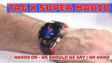 TAG Heuer Super Mario conectado Smartwatch