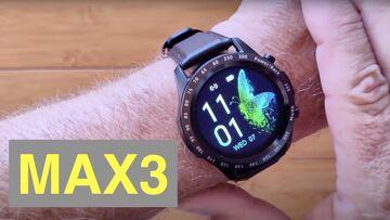SENBONO MAX3 IP67 Bluetooth 5 Llamando a 128MB Música Presión arterial Deportes Smartwatch: Unbox & 1St ver
