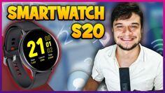 SMARTWATCH MAIS BARATO, CONHEÇA O S20! – UNBOXING E REVIEW