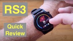 XIAOMI YOUPIN HAYLOU RS3 (LS04) 5ATM Waterproof BT5 Sports Fitness Smartwatch: Quick Overview