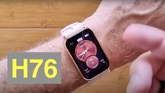 """LOKMAT TIME H76 1.57"""" Hyperboloid Screen Fitness/Health Blood Pressure Smartwatch: Unbox & 1st Look"""