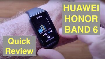 HUAWEI Honor Band 6 IP68 5ATM Waterproof Advanced Fitness Bracelet: One Minute Review