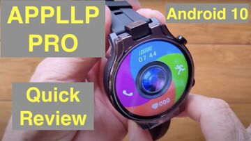 LOKMAT APPLLP PRO 13MP Flip Cam Android 10 MT6762  2.1in Screen 4GB/64GB Smartwatch: Quick Overview