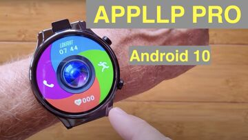 LOKMAT APPLLP PRO 13MP Flip Cam Android 10 MT6762 2.1in Screen 4GB/64GB Smartwatch: Unbox & 1st Look