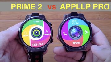 LOKMAT APPLLP PRO vs KOSPET PRIME 2: Which is Best large round Android 10 Smartwatch: Quick Overview